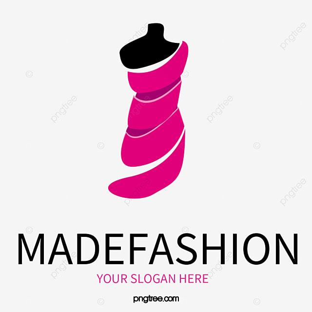 Bela Moda Feminina Logo Vector Material Excelente As