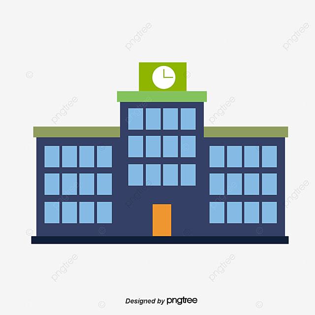 vector cartoon school school building vector png and vector for rh pngtree com school vector art school victory bells