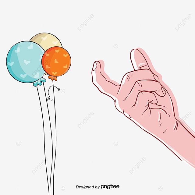 Holding hands heart vector