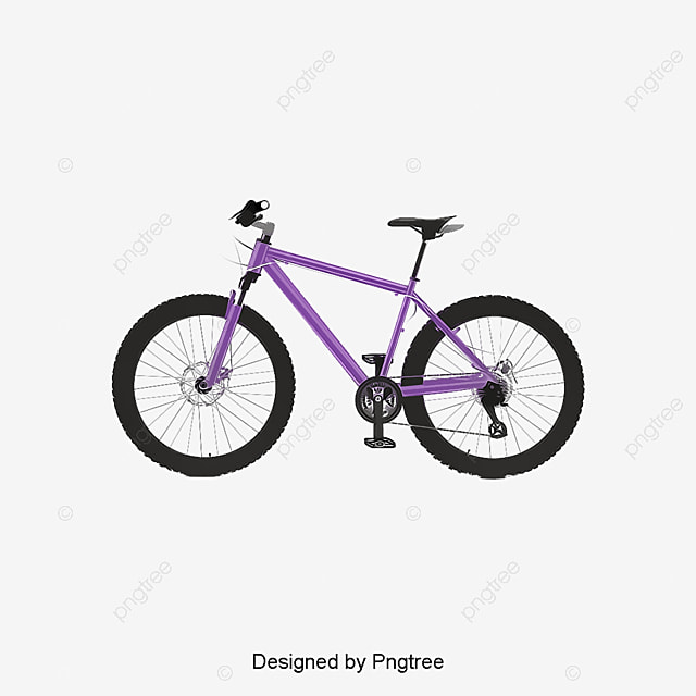 Hd Black Mountain Bike Bicycle PNG Image And Clipart