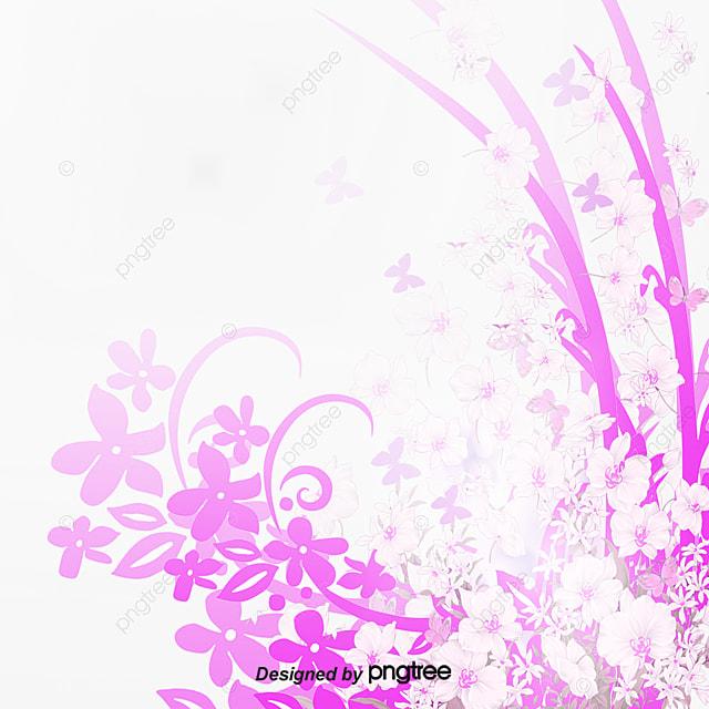 Romántico De Encaje De Flores Color De Fondo Vector Color Romantico