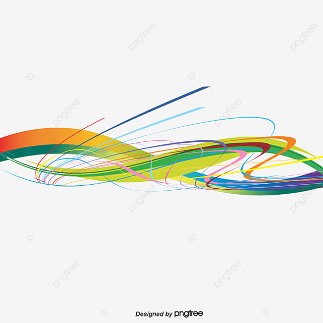 vector colored wavy lines  wavy lines  color wavy lines  vector png and vector for free download