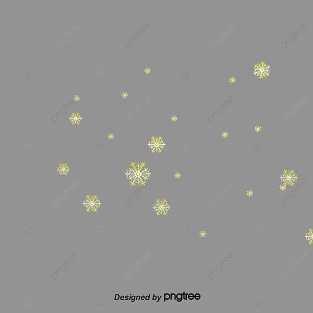 des flocons de neige de taches jaunes jaune flocon de neige des taches png et vecteur pour