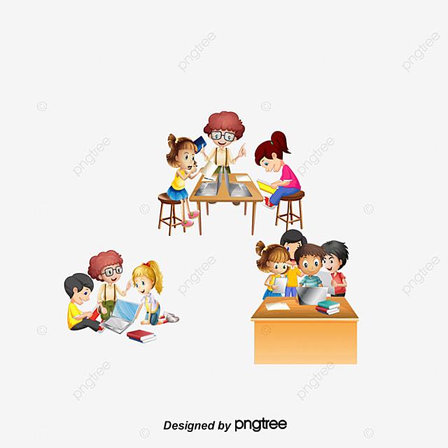 Etudiants De Vecteur Sur La Classe D Informatique Clipart Informatique Ordinateur Etudiant Fichier Png Et Psd Pour Le Telechargement Libre