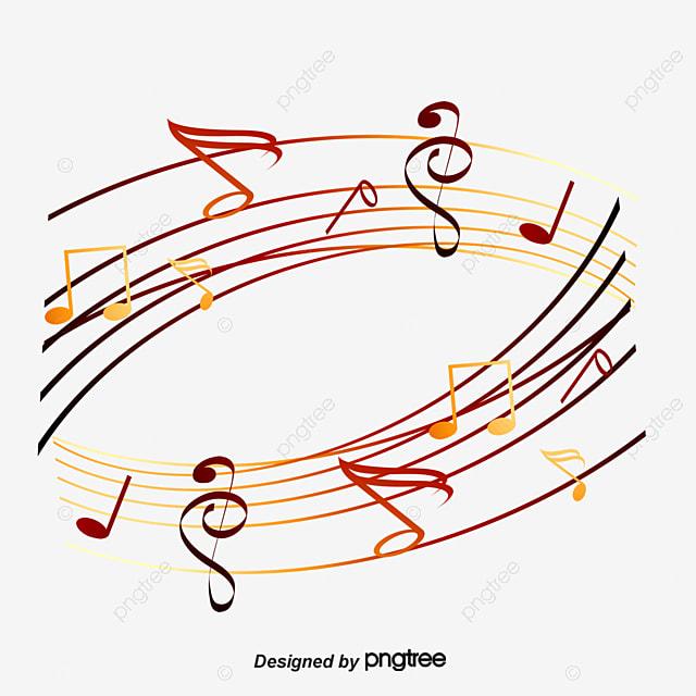color notas musicales musica nota color archivo png y