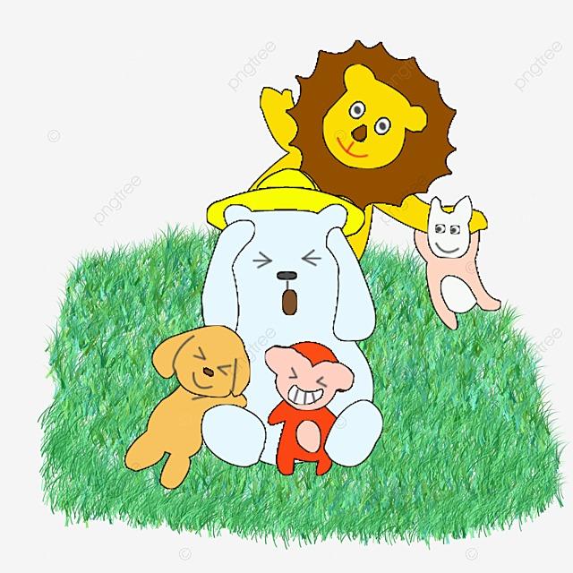 Desenhos De Animais Da Selva Cartoon A Selva Animal PNG