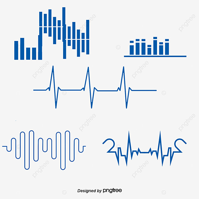 modern simple green sound wave vector green simple lovely png and rh pngtree com sound wave vector free download sound wave vector png