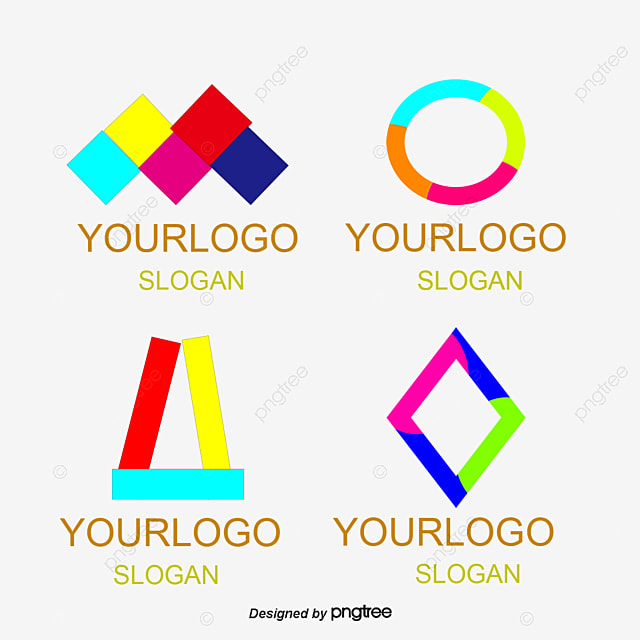 Simple Modern Home Furniture Logo Vector Color Lovely Simple PNG