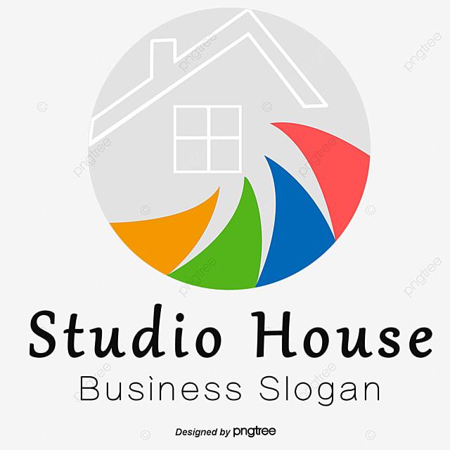 Cute Home Furniture Vector Logo Design, Home Vector