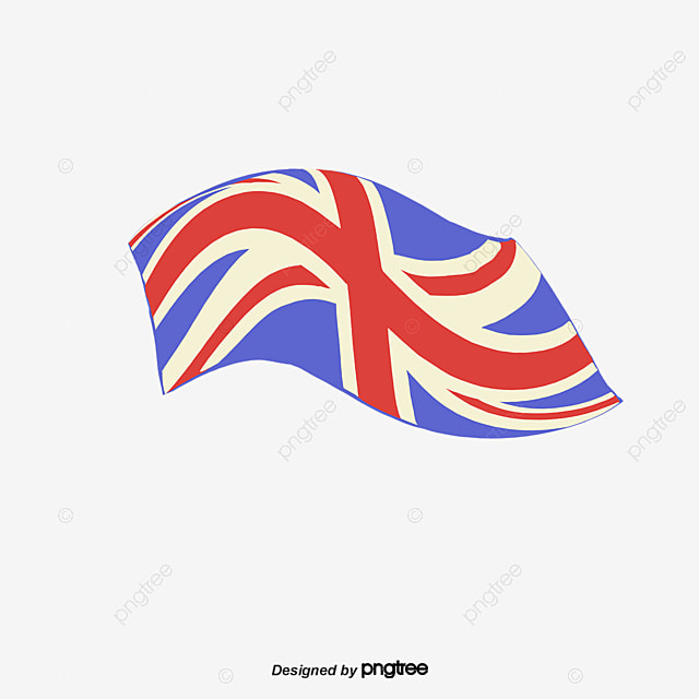 Vector Color British Flag Element, Color Vector, Flag ...