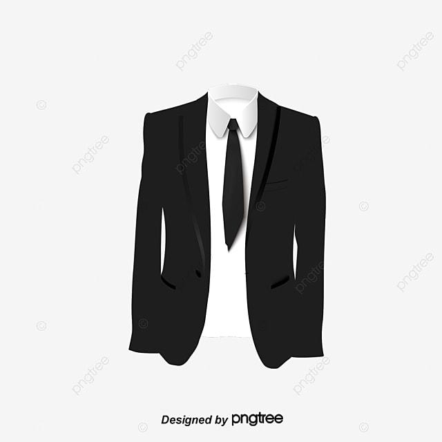 Black Suit Work Photo Template Clothes Suit Black Png
