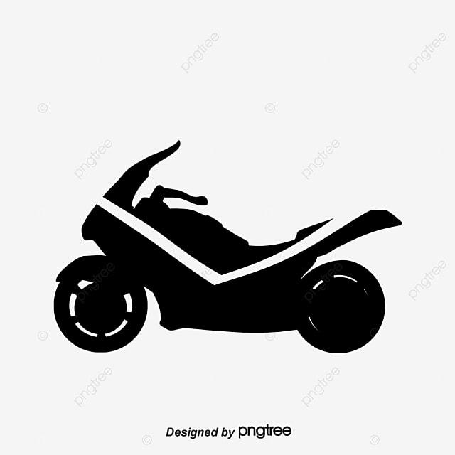 Fabuloso Logotipo Preto e Branco de moto Moderna., Preto E Branco, Moderna  MC33