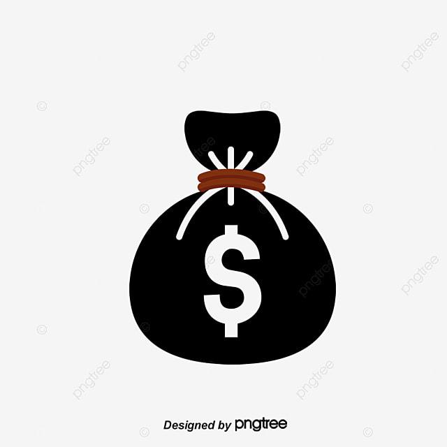flat black money logo money clipart logo clipart flat png and
