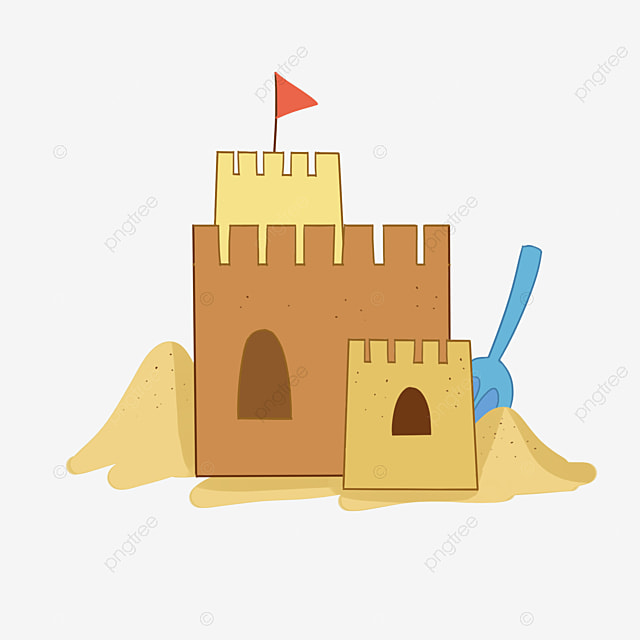 sand castle sand castle toy png image and clipart for free download rh pngtree com simple sand castle clipart free sandcastle clipart