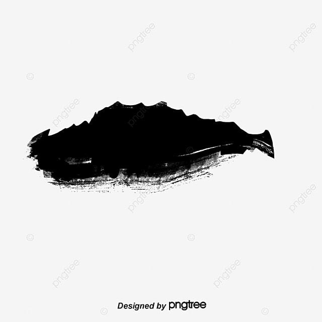 Black Ink Smear Black Ink Smear Png And Psd File For
