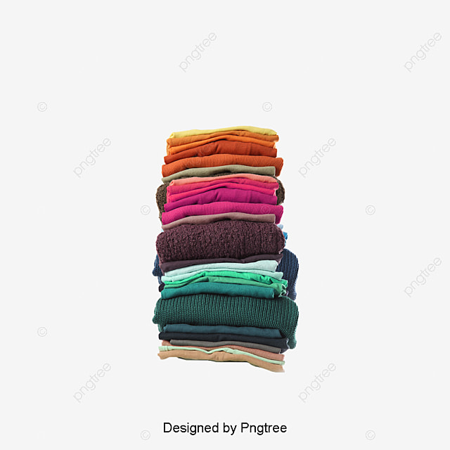 folded clothes png pictures free download