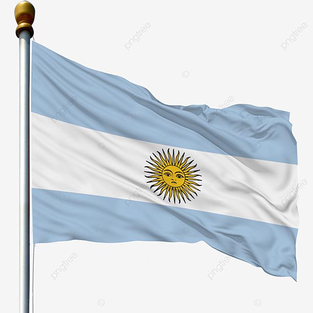 drapeau de l argentine national de vecteur vecteur drapeau
