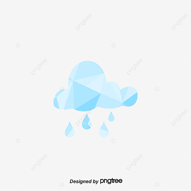 Blue cloud rain vector, Logo, Icon, Rain Sign PNG and ...