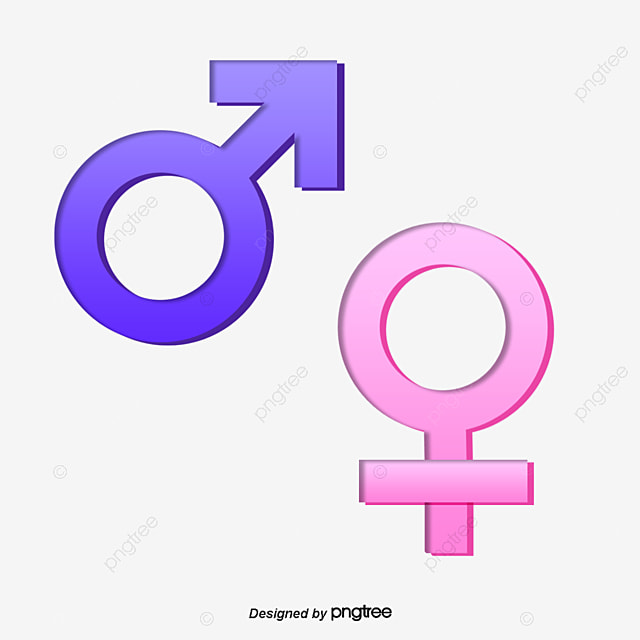 Gender Parity Men And Women Gender Symbol Png And Psd File For