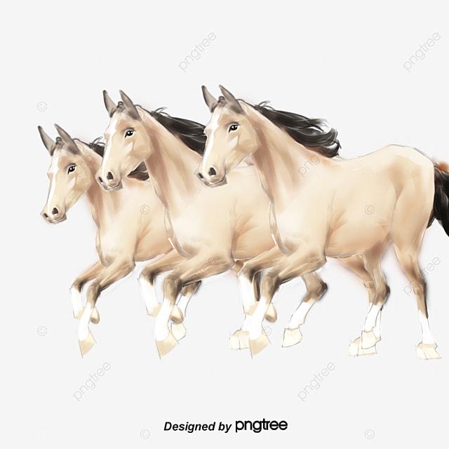 White Horse Running Elements Horse Clipart White Horse Enterprise