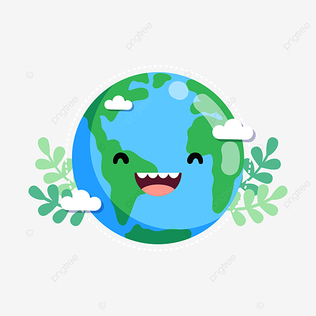 Sick Of The Earth Cartoon Fever Greenhouse Effect PNG Image And Clipart