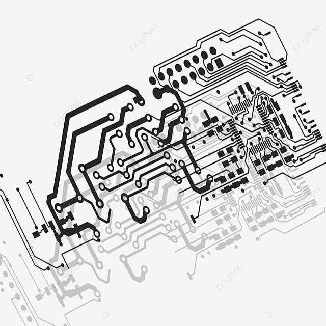 Circuit Board, Electronic Component, Resistance PNG and PSD File for ...