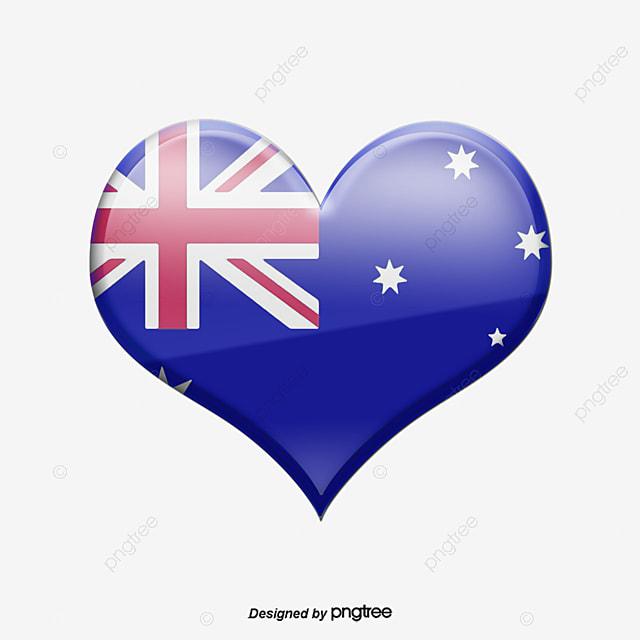 Australian Flag Map Of Australia Australia Png And Psd File For