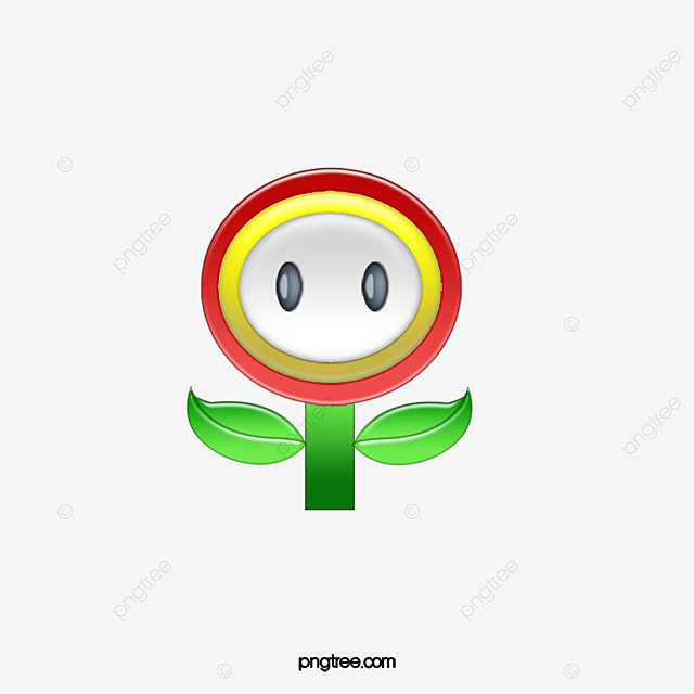 super mario 3d styling  super mary  flowers  3d png image record clipart reporter clipart