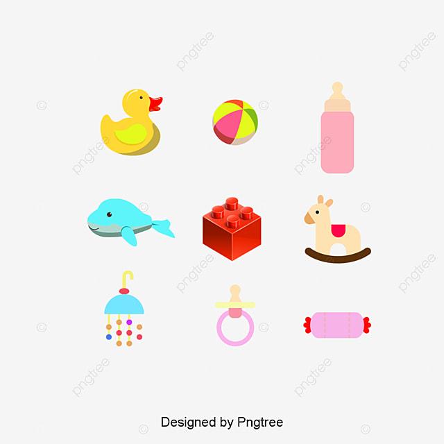 Boy Toys Template : Brinquedos para crianças material de vetor desenhos