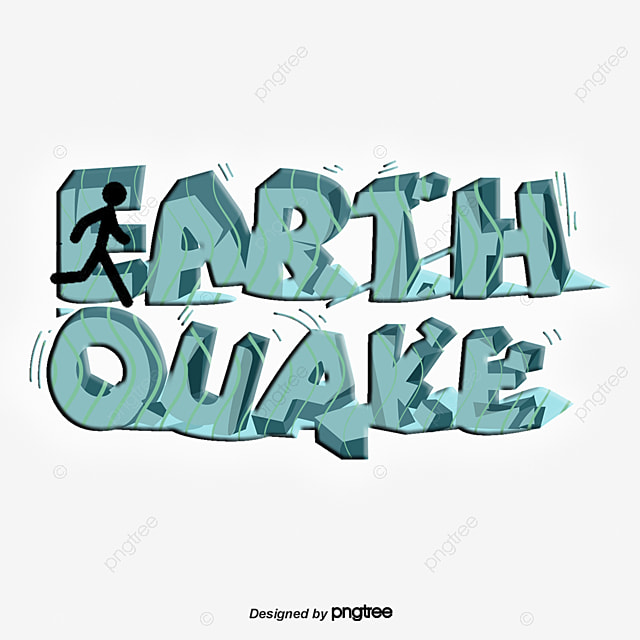 this graphic is free for personal use by joining our premium plan you can unlimited download similar images click here vector yellow earthquake art word