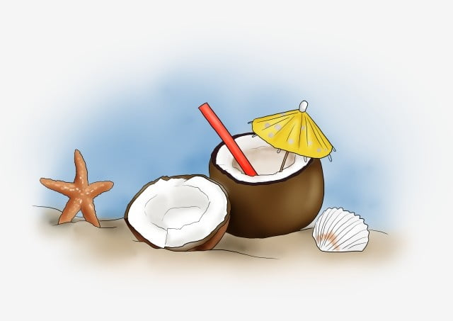 how to make coconut water from fresh coconut