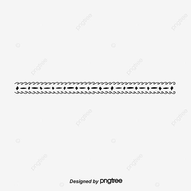 vector wavy line border black polyline wave line vector