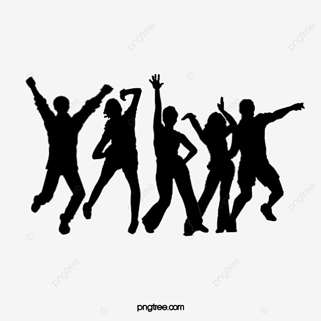 Dance Silhouette Dance Clipart Silhouette Decoration Png Transparent Clipart Image And Psd File For Free Download