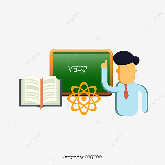 Mathematics Teacher Teaching, Vector Material, Education, School PNG ...