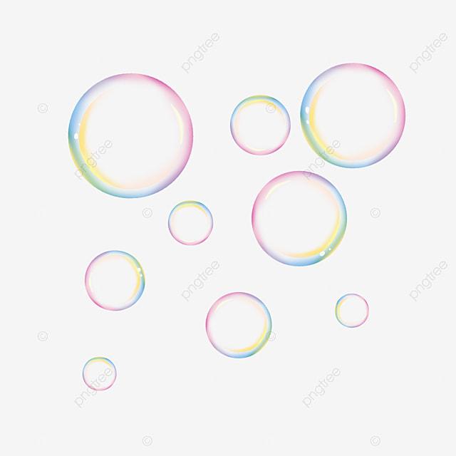 Color Redondo Material De Burbujas Burbuja Burbuja De Color Material