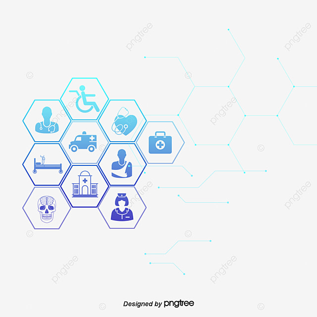 creative medical background design vector connection