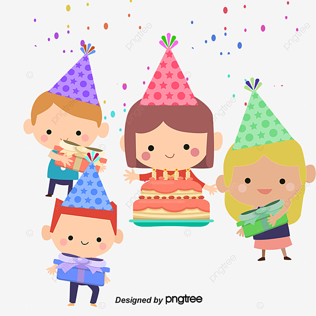 Birthday Party Poster Birthday Vector Party Vector Poster Vector