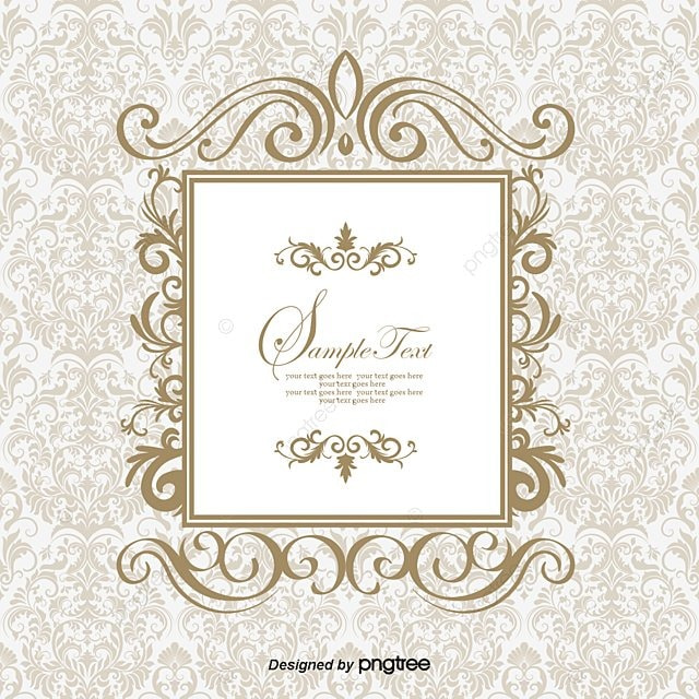 European Elegant Frame Vector, Frame, Elegant, Fine PNG and Vector ...