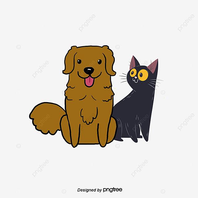 chiens et chats de dessin dessin chiens en mati u00e8re de chat