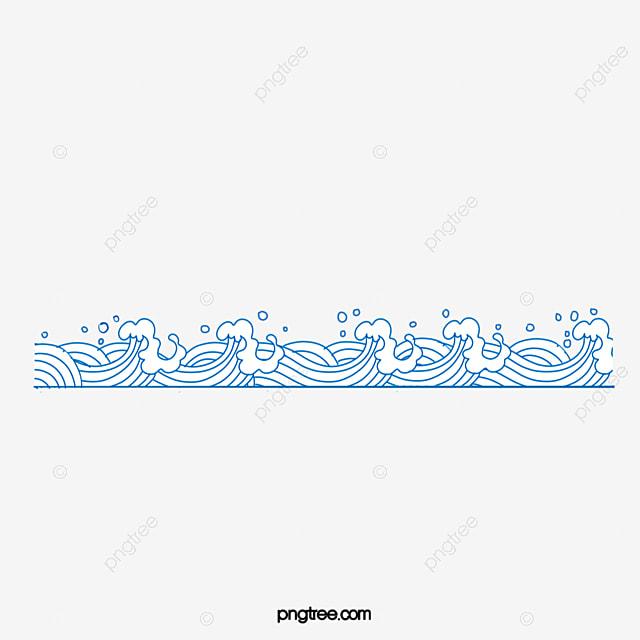 De Dibujos Animados Patron De Flor De Agua La Onda De Agua