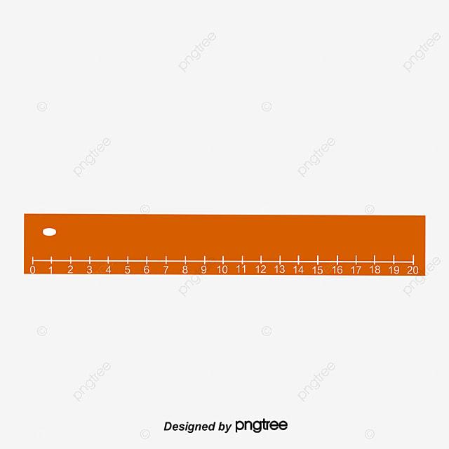 أصفر مسطرة قياس عنصر قياس ناقلات حاكم الرياضيات PNG ...