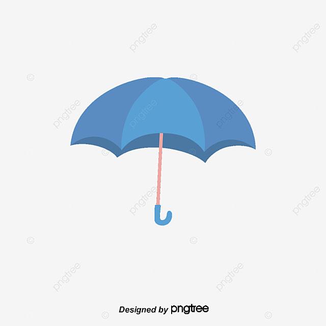 Paraguas PNG vector elemento, Paraguas Vector, Azul