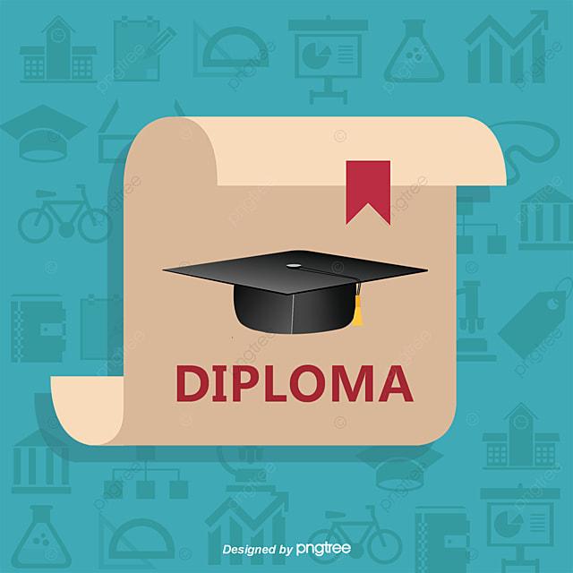 Certificado De Graduación De La Foto, Educación, El Dr Sombrero ...