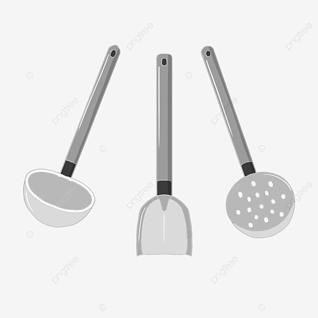 Kitchen Utensils, Kitchen Clipart, Kitchenware, Spatula PNG Image And  Clipart