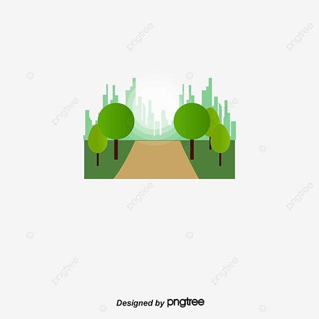 City Graphic Design Vector