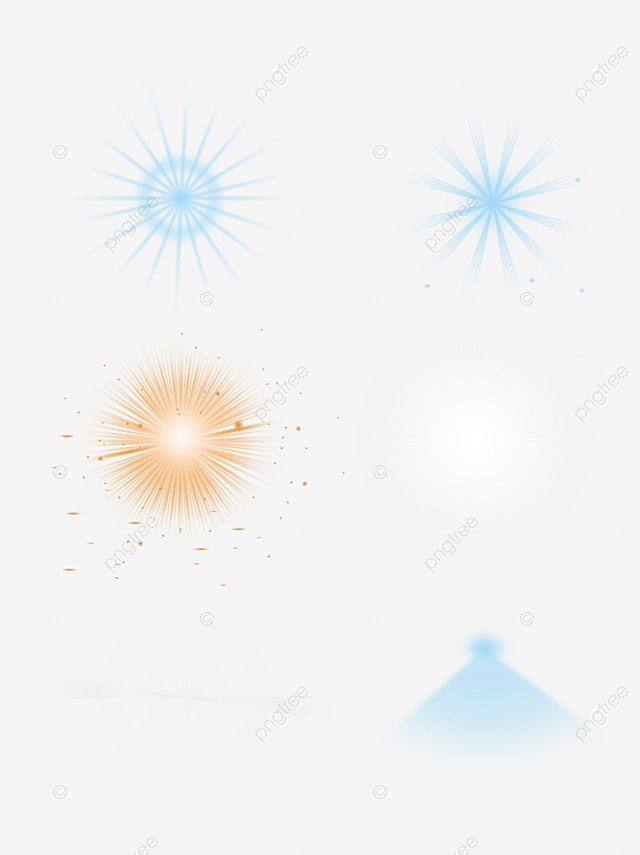 Green Star Light Effect Element Starlight Free PNG Image And Clipart