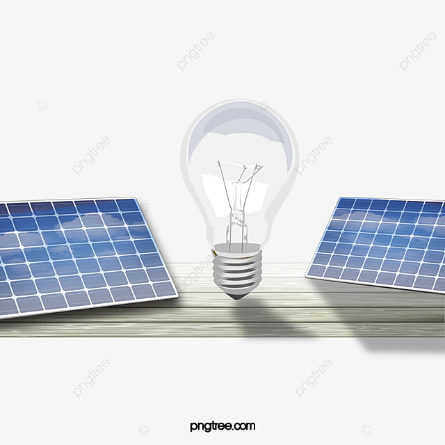 cr u00e9ation de panneaux solaires lampe  u00e9lectrique cr u00e9atif de l  u00e9nergie solaire image png pour le