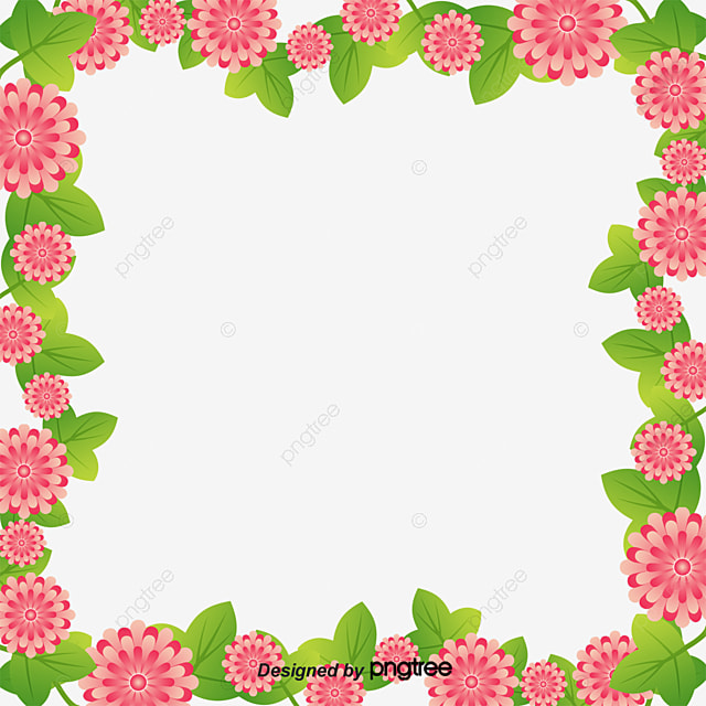 Spring Borders, Spring New, Spring, Frame PNG Image and Clipart for ...