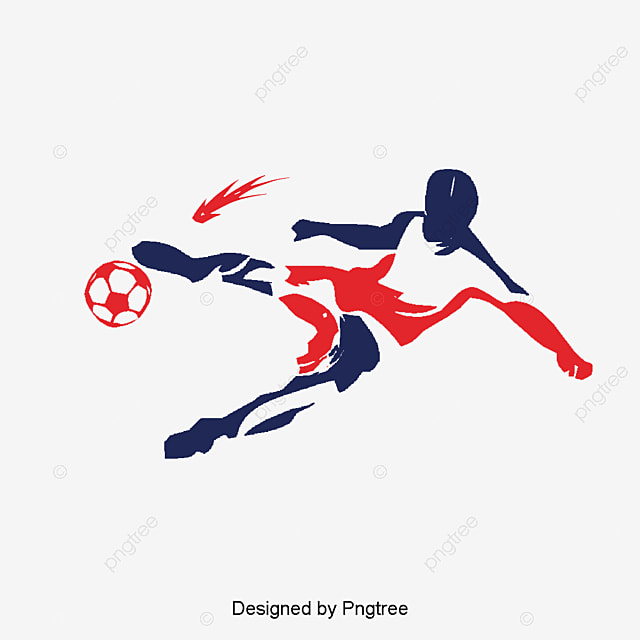 Soccer Player Design Hd Deduction Material, Soccer Clipart