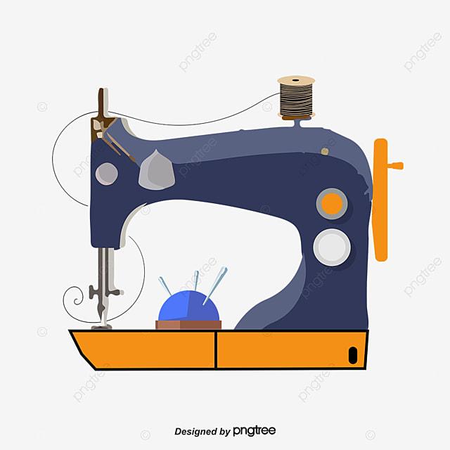 Maquina De Coser De Patron De Costura Vector Material Vector Patrón ...